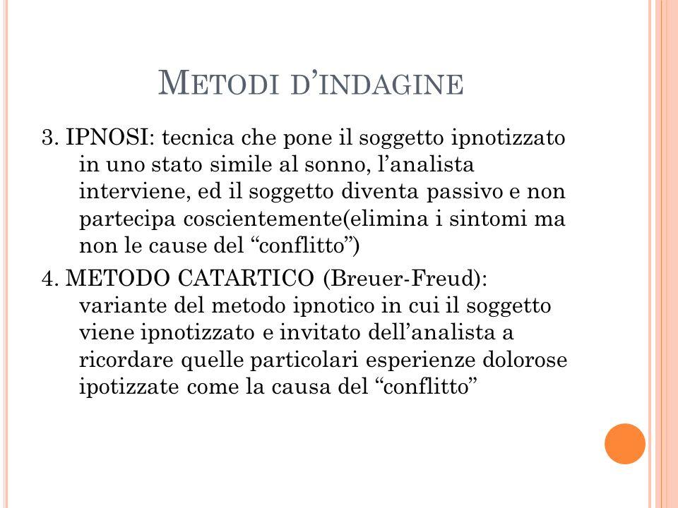 M ETODI D INDAGINE 3.