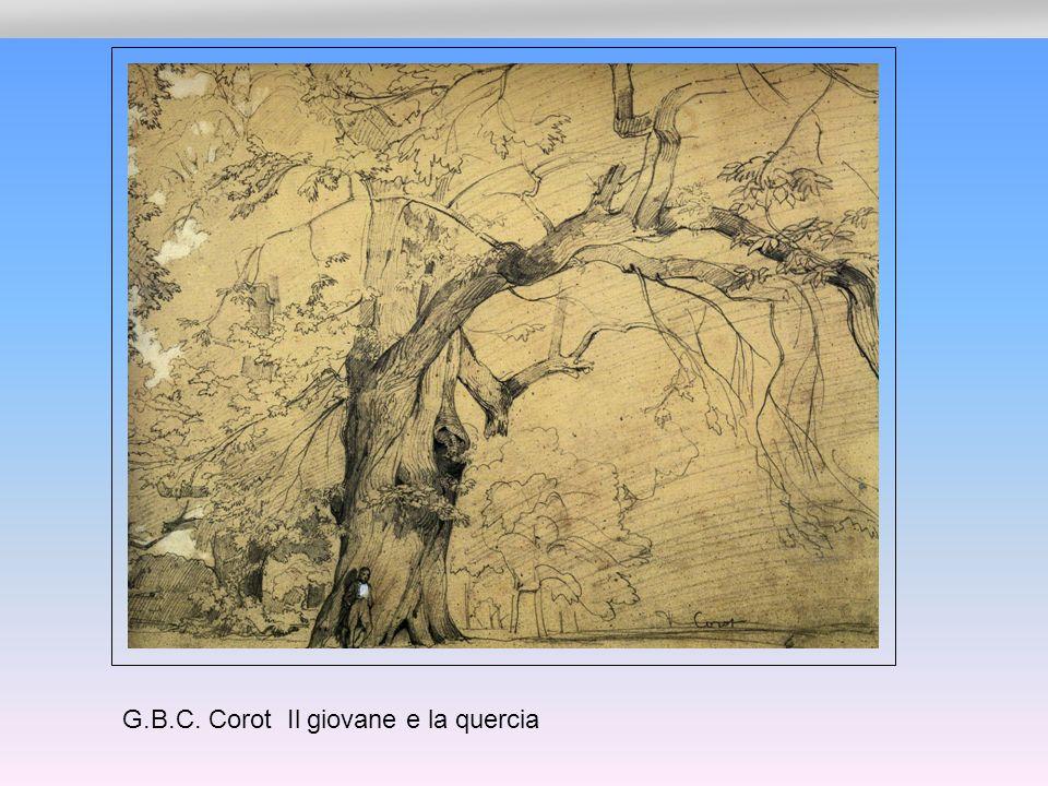 G.B.C. Corot Il giovane e la quercia