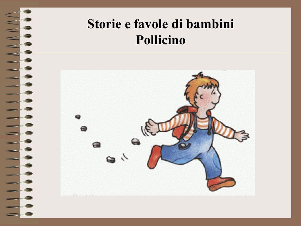 Storie e favole di bambini Pollicino