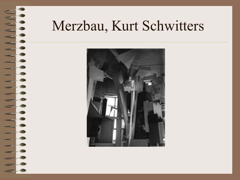 Merzbau, Kurt Schwitters