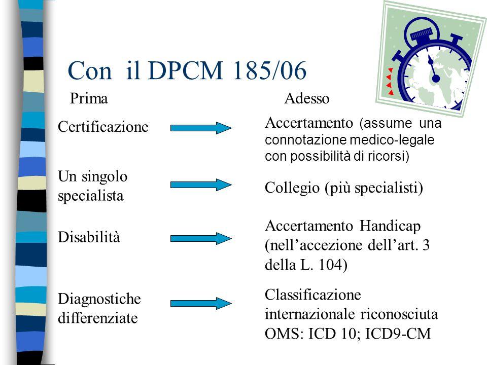 Con la DGR 3449/06 nuove procedure dalla.s.