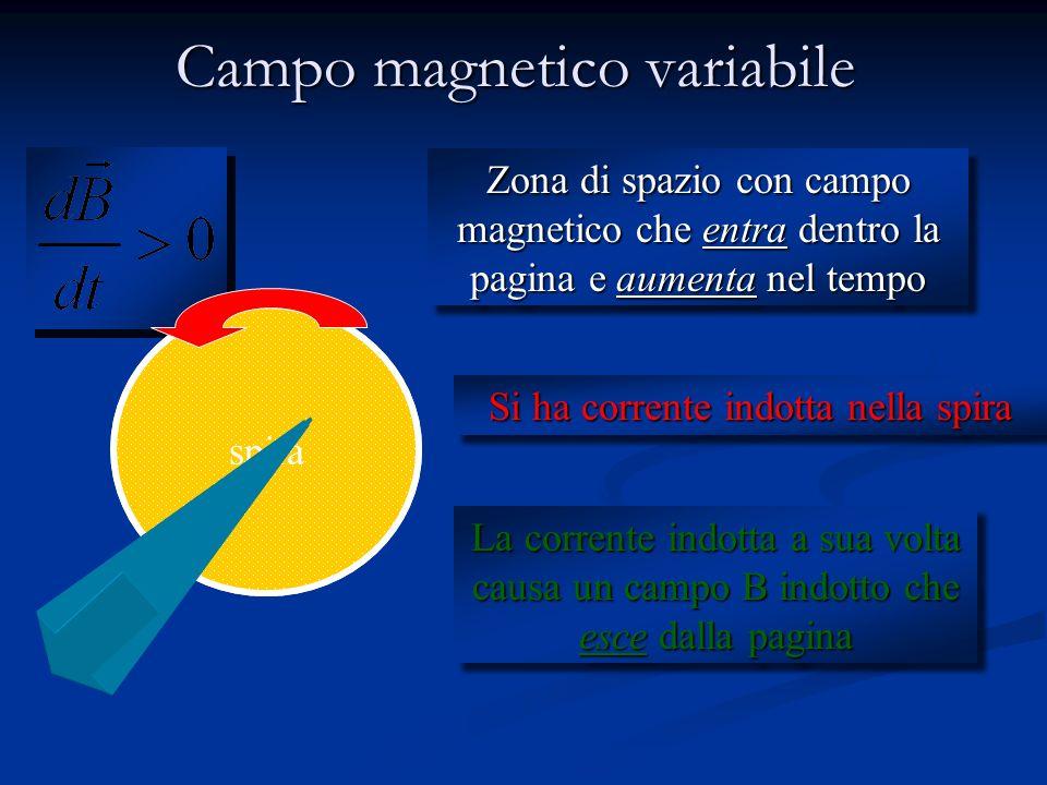 Campi elettrici Campoelettricoindotto (creato da variazioni di B)Campoelettricoindotto Campoelettrostatico (creato da cariche)Campoelettrostatico Circ