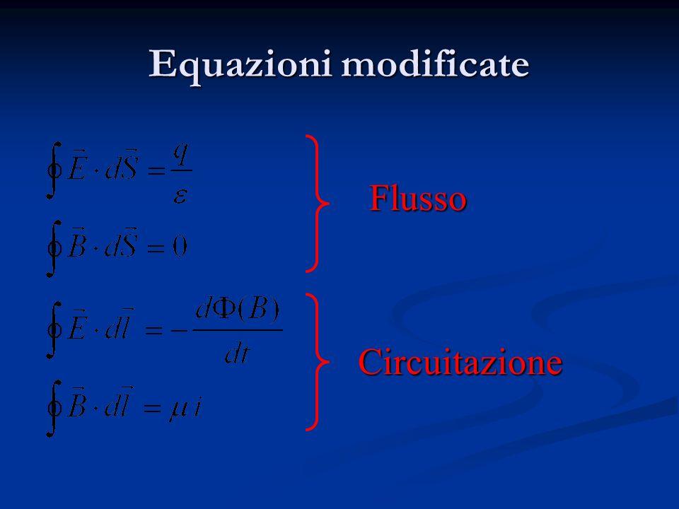 B = f (i) Conseguenze della quarta equazione (2)
