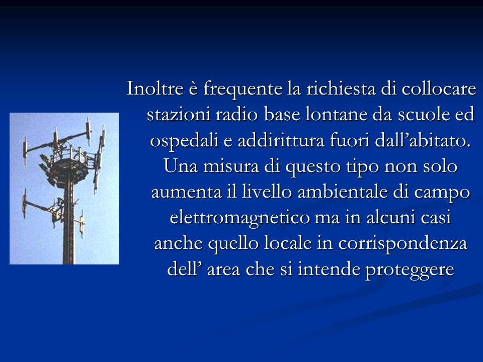 Focalizziamo ora la nostra attenzione sulle antenne e i ripetitori di telefonia mobile. Gli esperti dellistituto superiore di sanità confermano che le