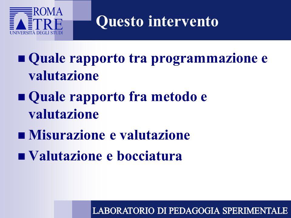 Valutazione delle competenze La valutazione delle competenze esige la considerazione di una pluralità di fonti di informazione e di metodi di rilevazione (Pellerey) osservazione sistematica autodescrizione analisi dei risultati