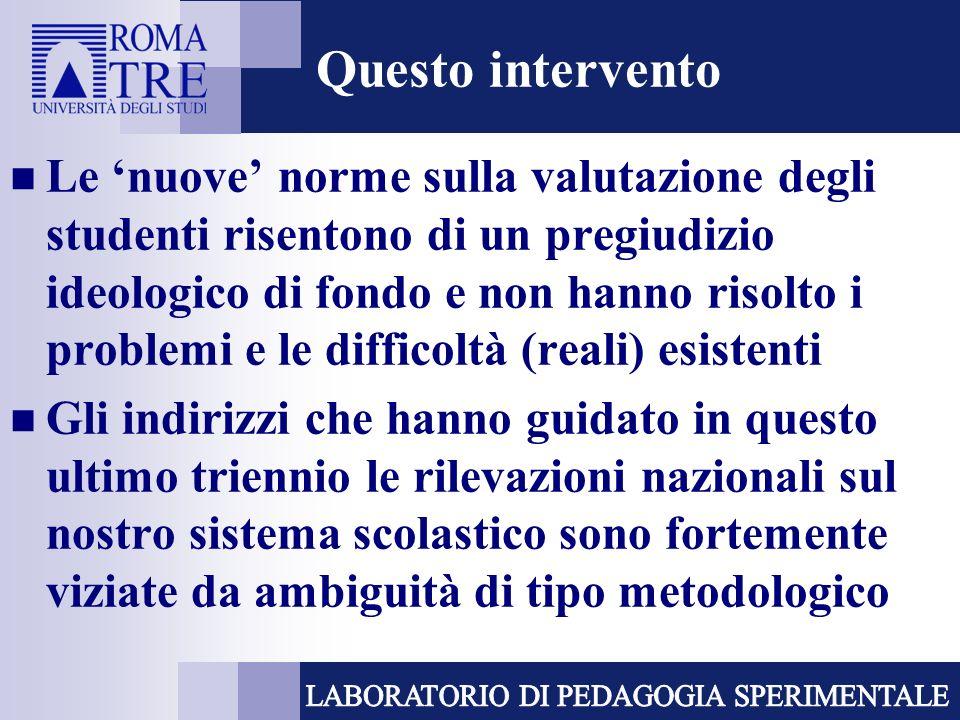 157.Qual è la funzione affidata alle indagini INVALSI dallattuale quadro normativo.