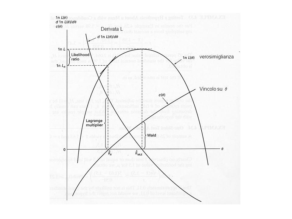 verosimiglianza Vincolo su Derivata L