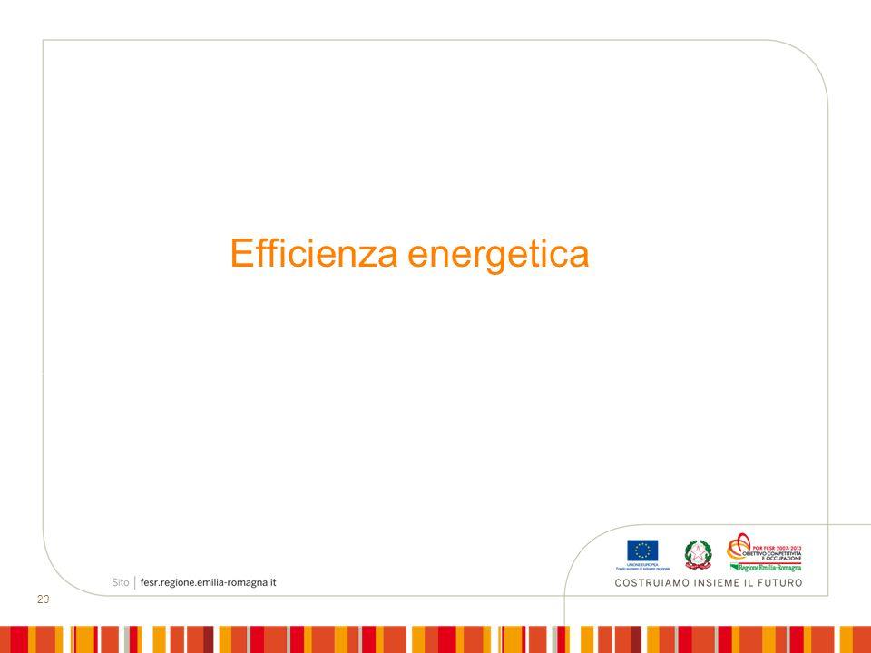 23 Efficienza energetica