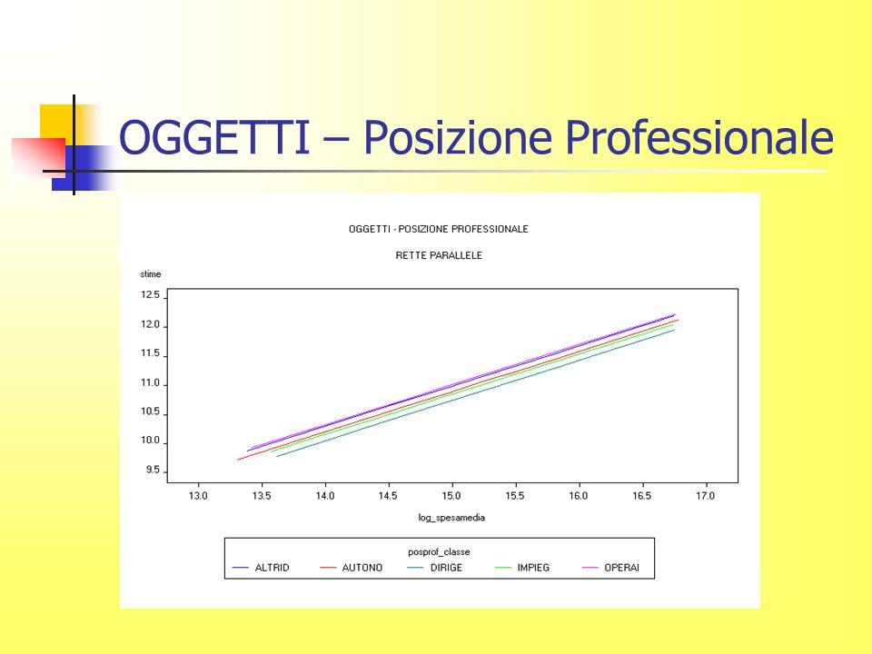 OGGETTI – Posizione Professionale