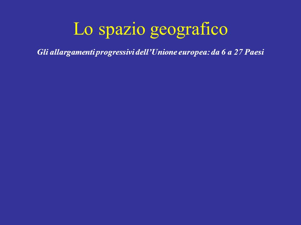 Obiettivi di lungo periodo E U R O P E 2 0 2 0 A European strategy for smart, sustainable and inclusive growth EUROPEAN COMMISSION, EUROPE 2020 A strategy for smart, sustainable and inclusive growth, COM(2010) 2020, Brussels, 3.3.2010
