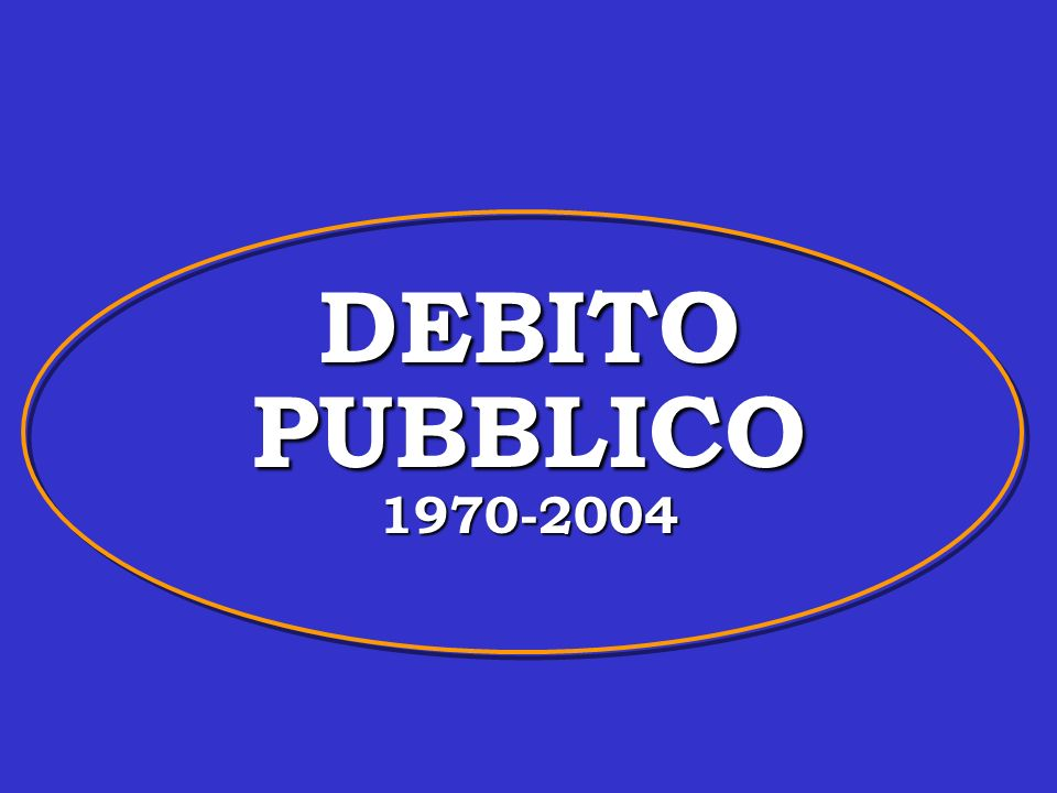 Il debito pubblico in Italia Valli V.Politica Economica, Vol.1.