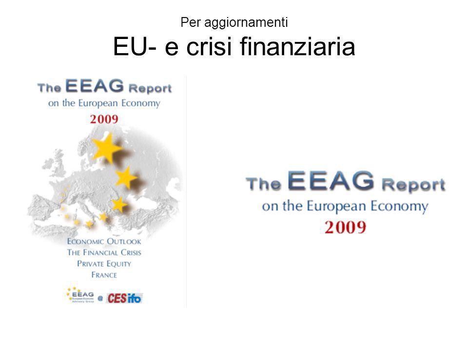Per aggiornamenti EU- e crisi finanziaria