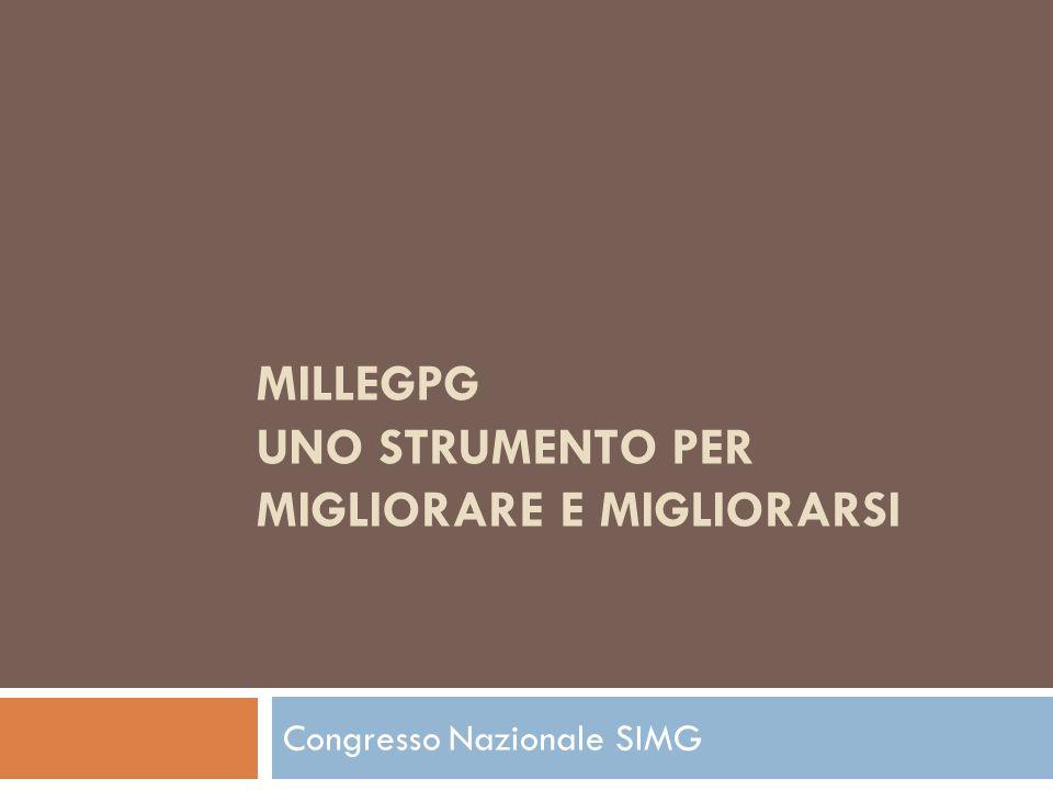 Gli obiettivi e le strategie di MilleGPG Introduzione generale al corso
