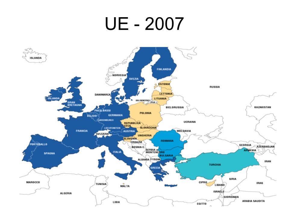 Trattato sullUnione europea (TUE) Articolo 49 del TUE: Ogni Stato europeo che rispetti i principi sanciti nellarticolo 6(1) può domandare di diventare membro dellUnione.