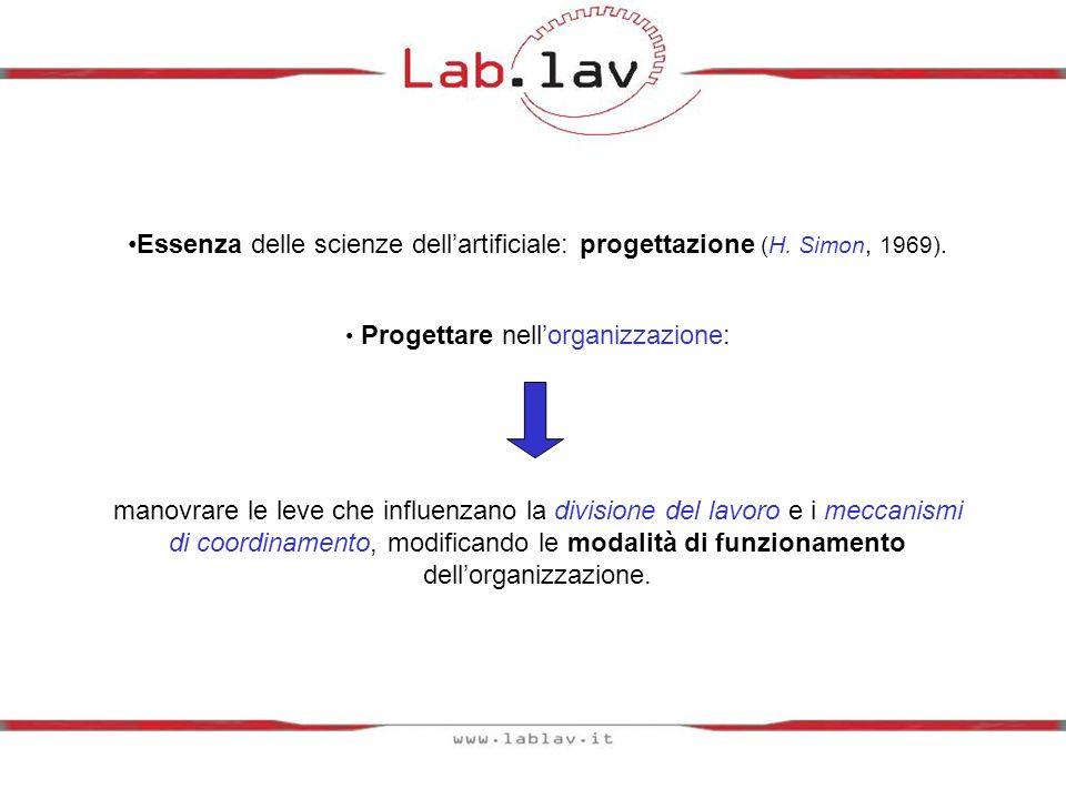 Essenza delle scienze dellartificiale: progettazione (H.