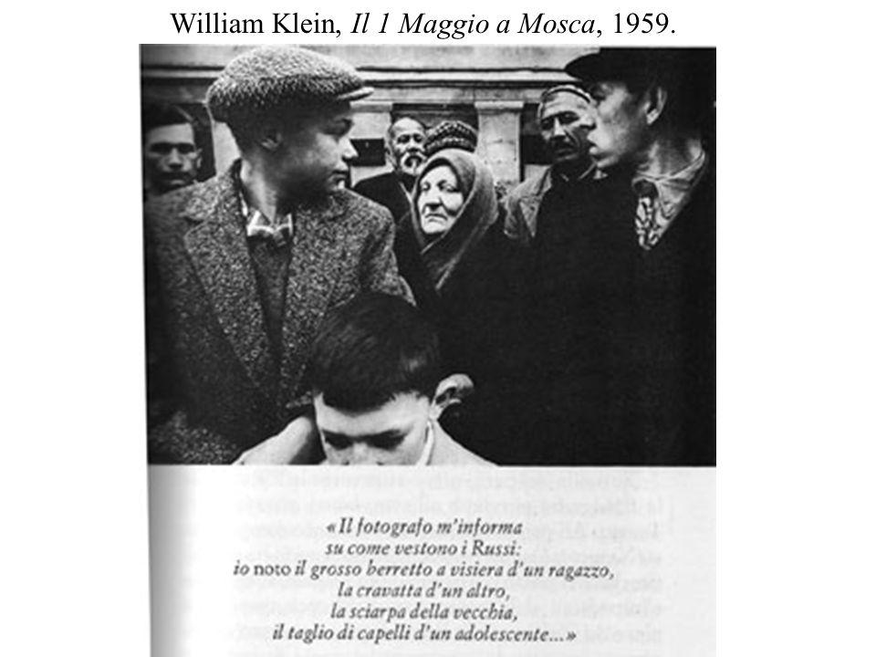 William Klein, Il 1 Maggio a Mosca, 1959.