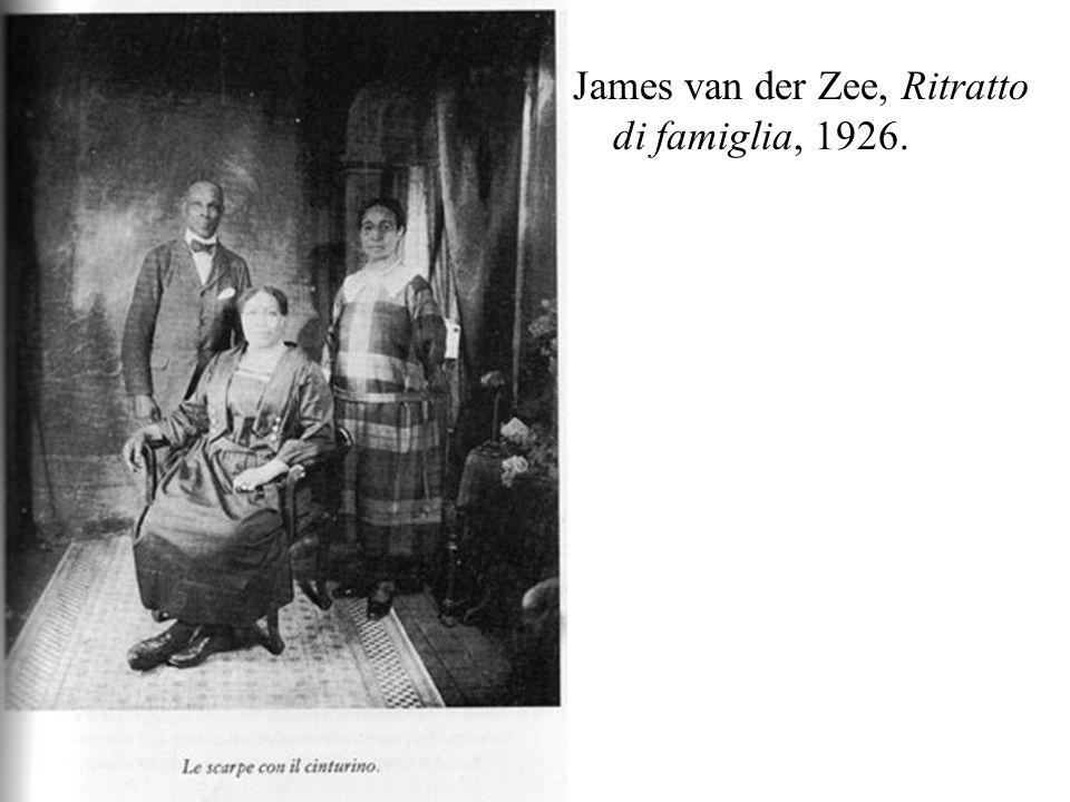 James van der Zee, Ritratto di famiglia, 1926.