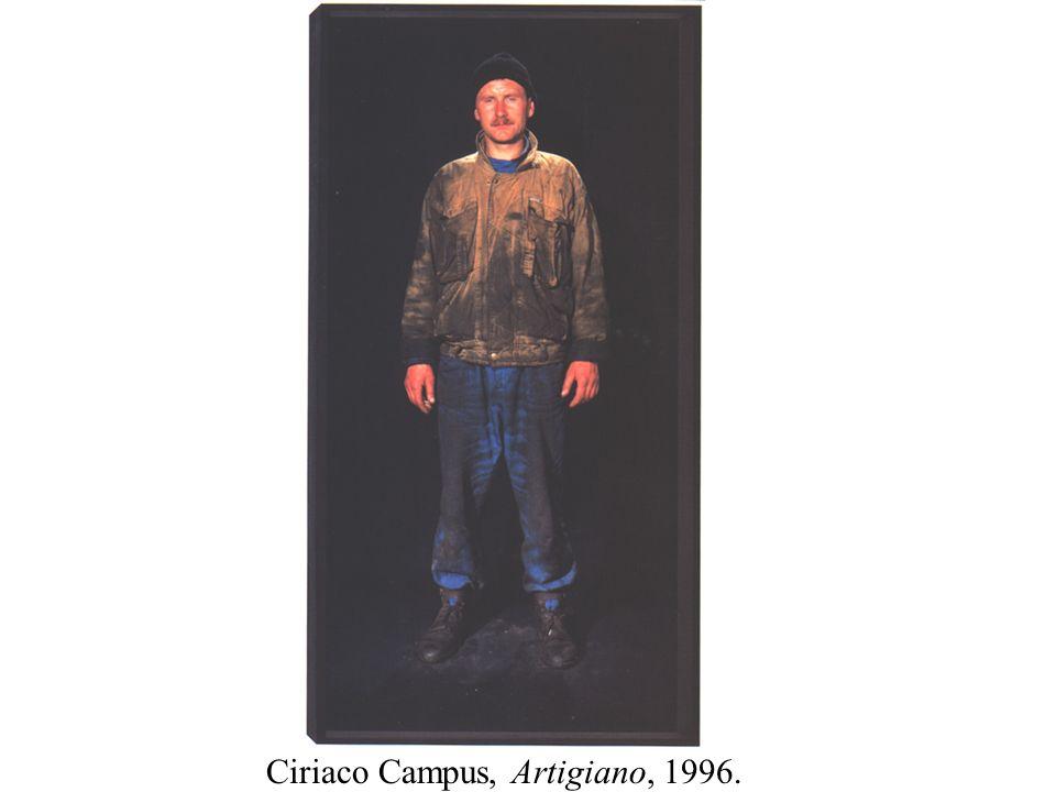 Ciriaco Campus, Artigiano, 1996.
