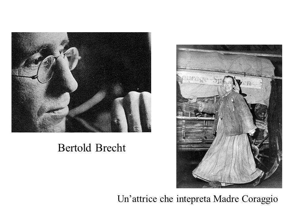 Bertold Brecht Unattrice che intepreta Madre Coraggio