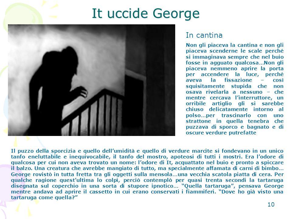 11 It uccide George La barchetta di carta impermealizzata di George Il pezzetto di paraffina si era quasi completamente sciolto nella scodella.