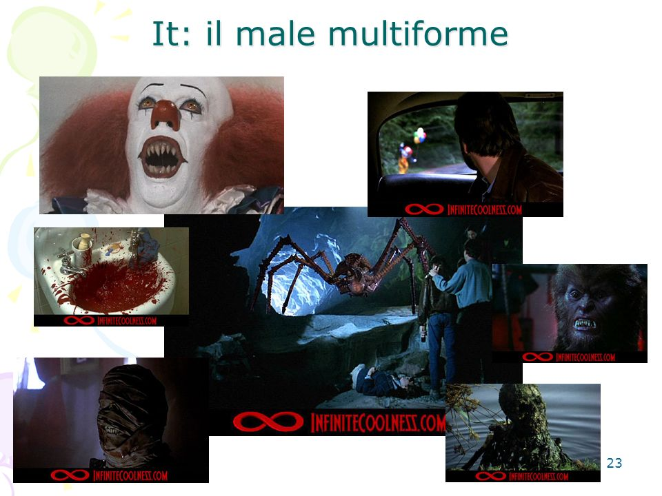 23 It: il male multiforme