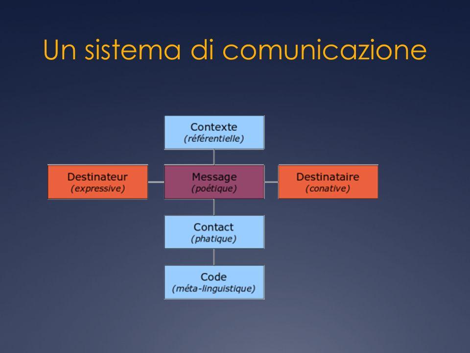 Un sistema di comunicazione