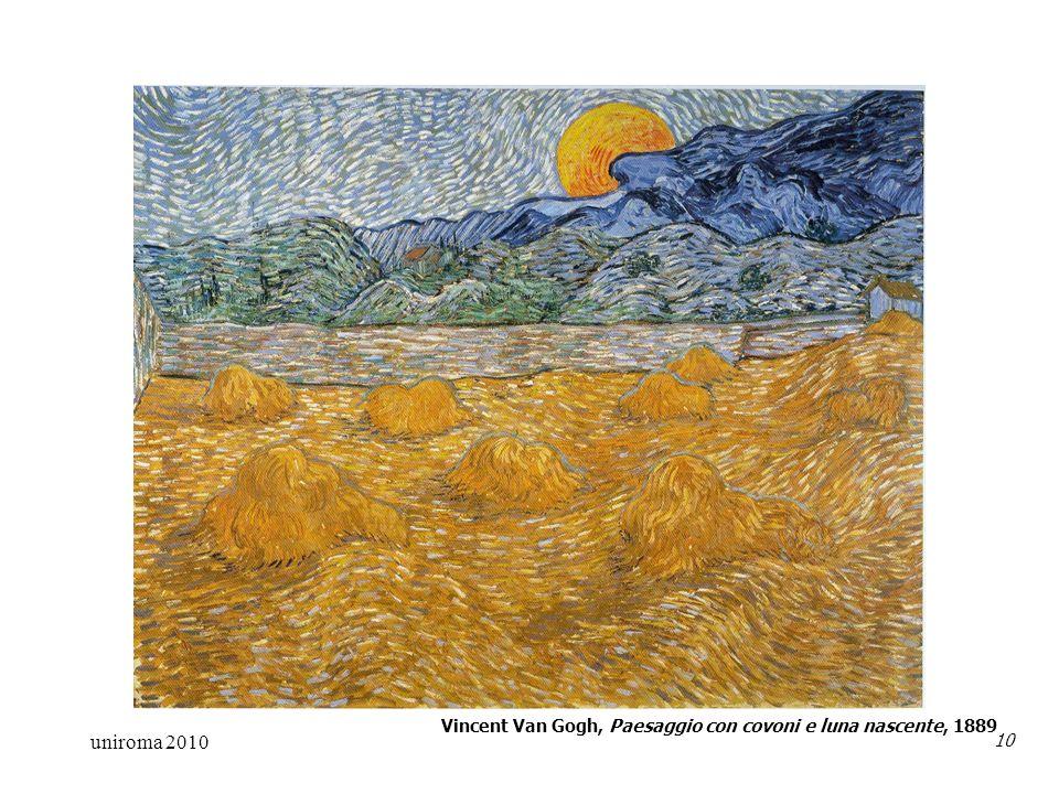 uniroma 2010 10 Vincent Van Gogh, Paesaggio con covoni e luna nascente, 1889