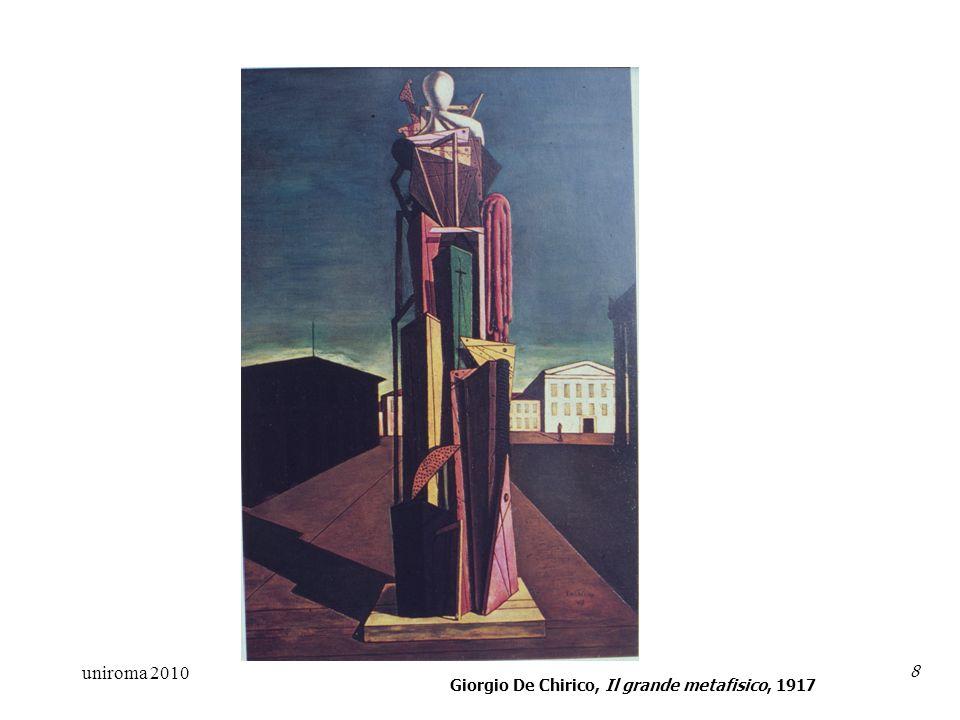 uniroma 2010 8 Giorgio De Chirico, Il grande metafisico, 1917