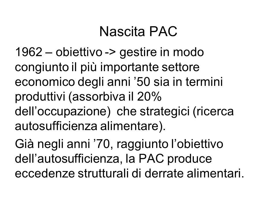 La riforma Mac Sharry (1992) Importanza attribuita ai metodi di produzione estensivi generalmente di qualità superiore rispetto a quelli intensivi.