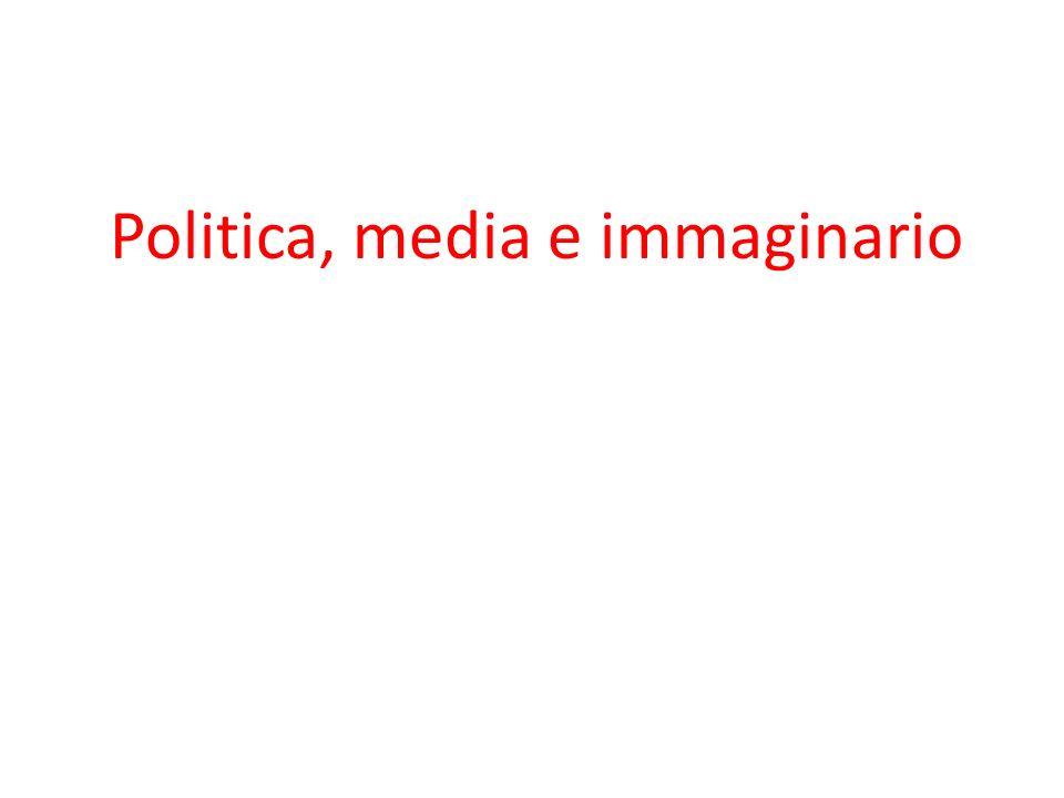 Politica, media e immaginario