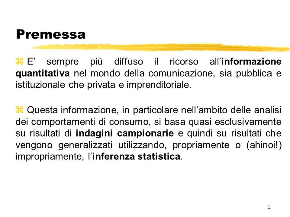3 Le informazioni z È, pertanto, fondamentale che Voi sappiate leggere e interpretare report contenenti informazioni statistiche, ma anche contribuire a comunicare queste informazioni in modo adeguato.