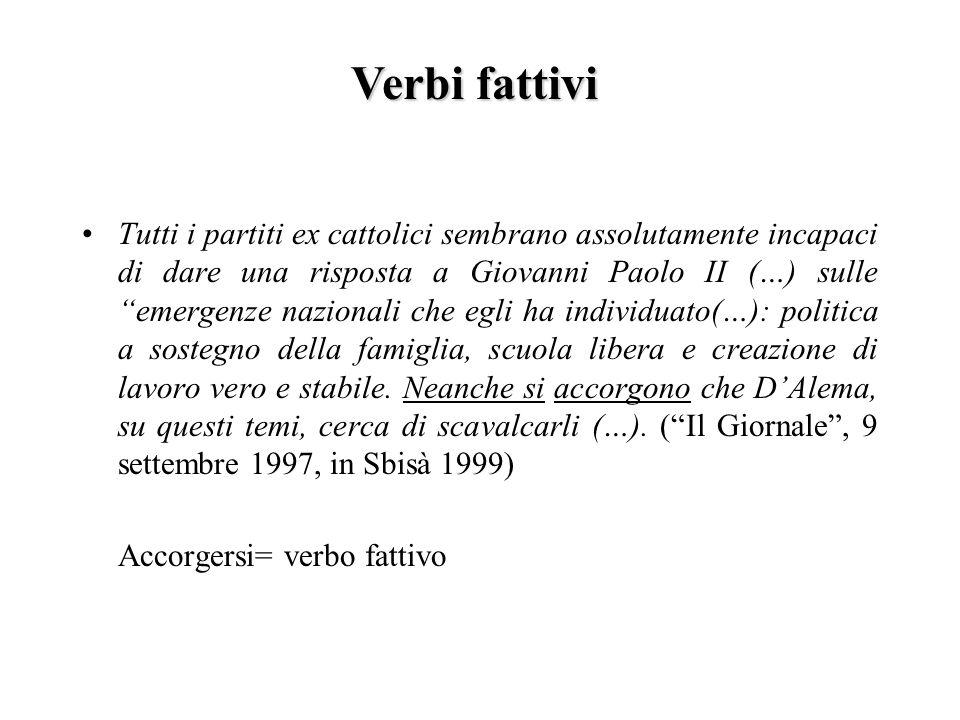 Tutti i partiti ex cattolici sembrano assolutamente incapaci di dare una risposta a Giovanni Paolo II (…) sulle emergenze nazionali che egli ha indivi