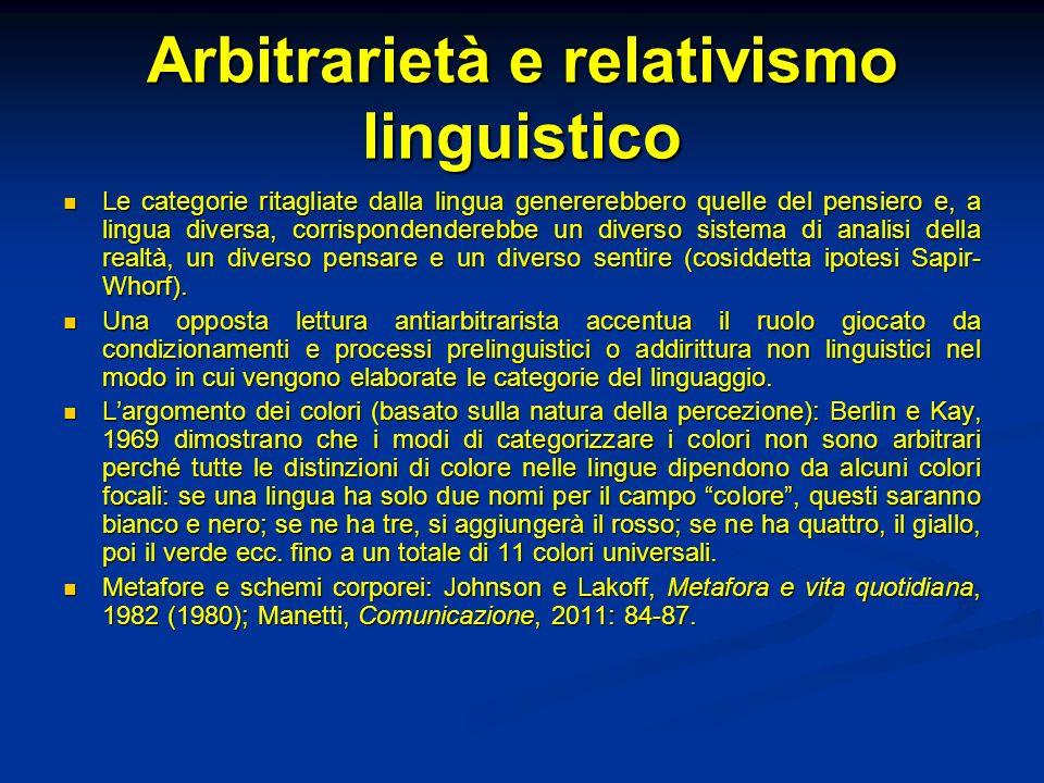 Metalinguisticità riflessiva Un calcolo, linguaggio formale non-creativo, non può descrivere se stesso, essere al contempo linguaggio oggetto e metalinguaggio.
