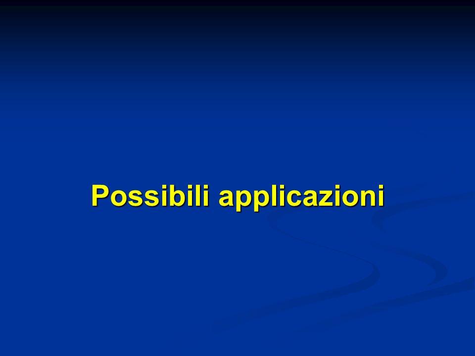 Possibili applicazioni