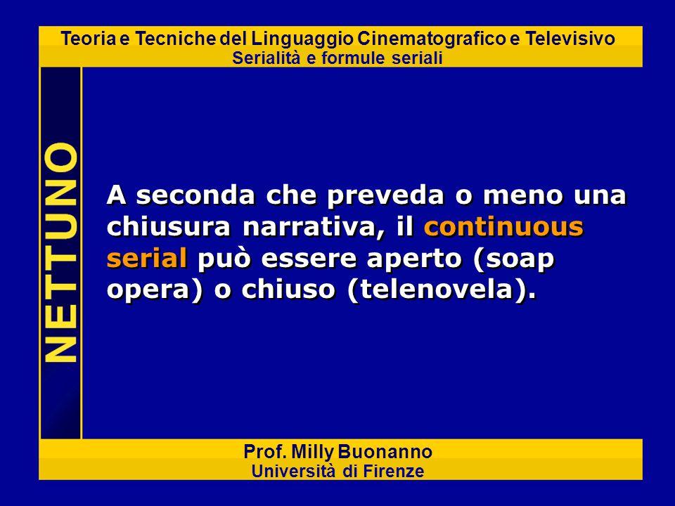 Teoria e Tecniche del Linguaggio Cinematografico e Televisivo Serialità e formule seriali Prof. Milly Buonanno Università di Firenze A seconda che pre
