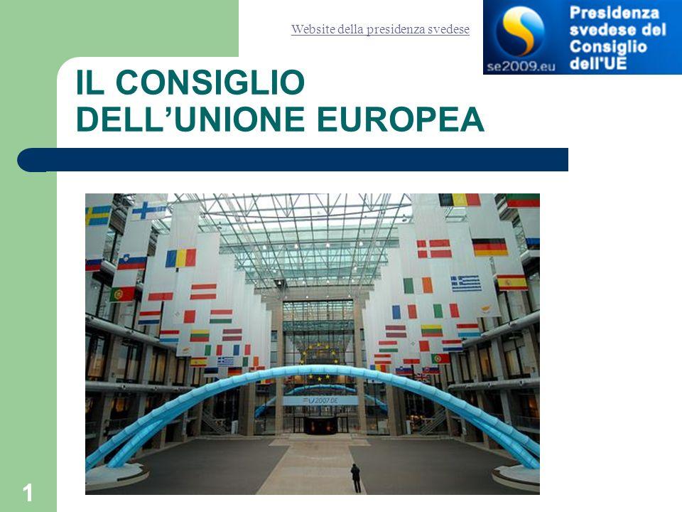 2 Il sito internet del Consiglio http://www.consilium.europa.eu/showPage.ASP?lang=it