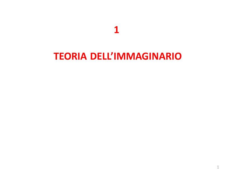 1 TEORIA DELLIMMAGINARIO 1