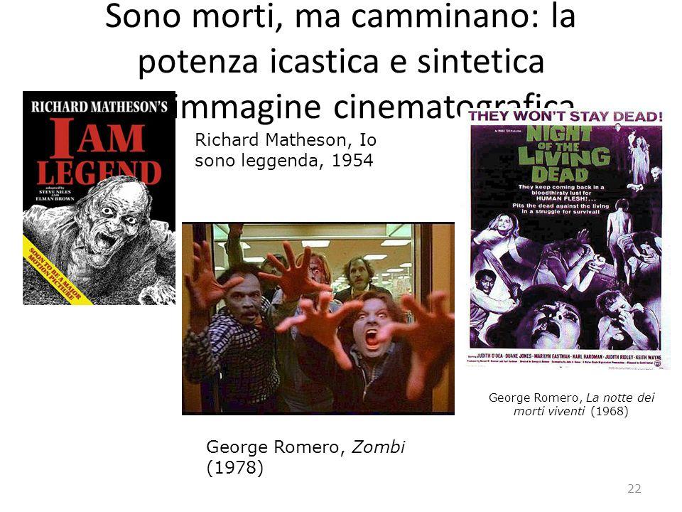 Sono morti, ma camminano: la potenza icastica e sintetica dellimmagine cinematografica George Romero, La notte dei morti viventi (1968) George Romero,