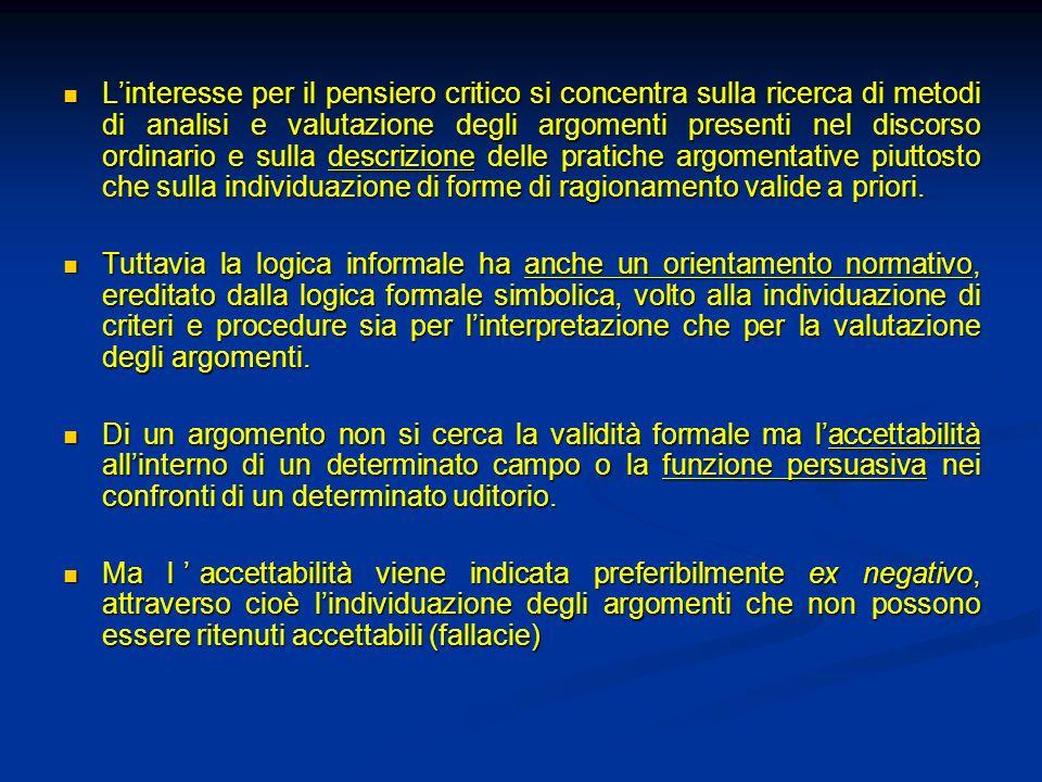 Argumentum ad hominem Argomento dautorità rovesciato.