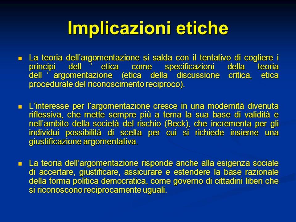 Argomenti e paralogismi (fallacie) La definizione classica della fallacia è: argomento che sembra valido ma non lo è.