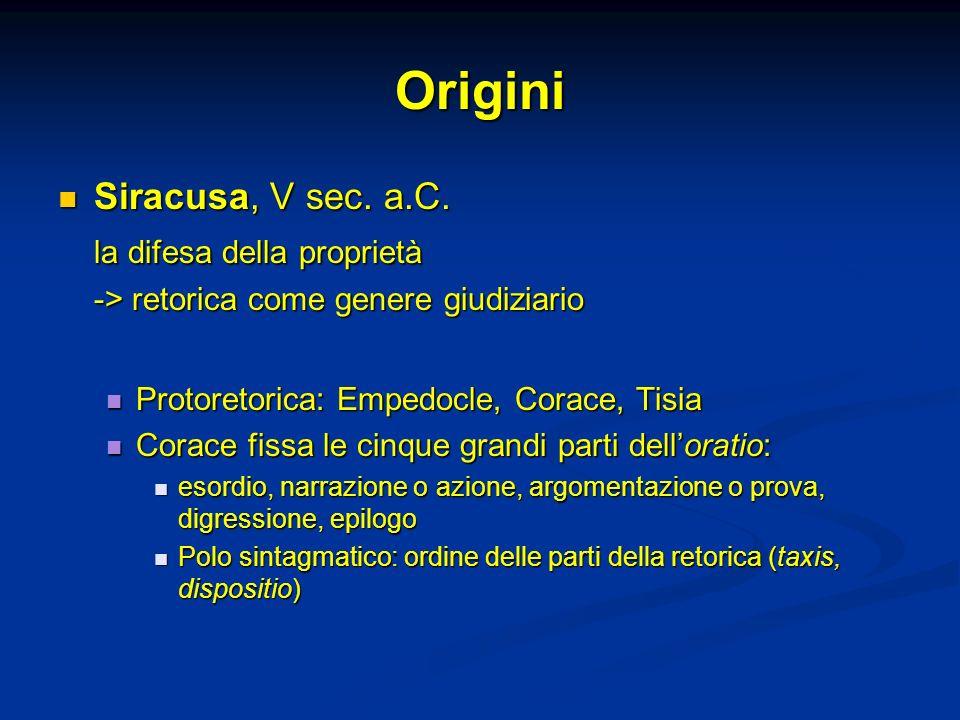 Origini Siracusa, V sec.a.C. Siracusa, V sec. a.C.