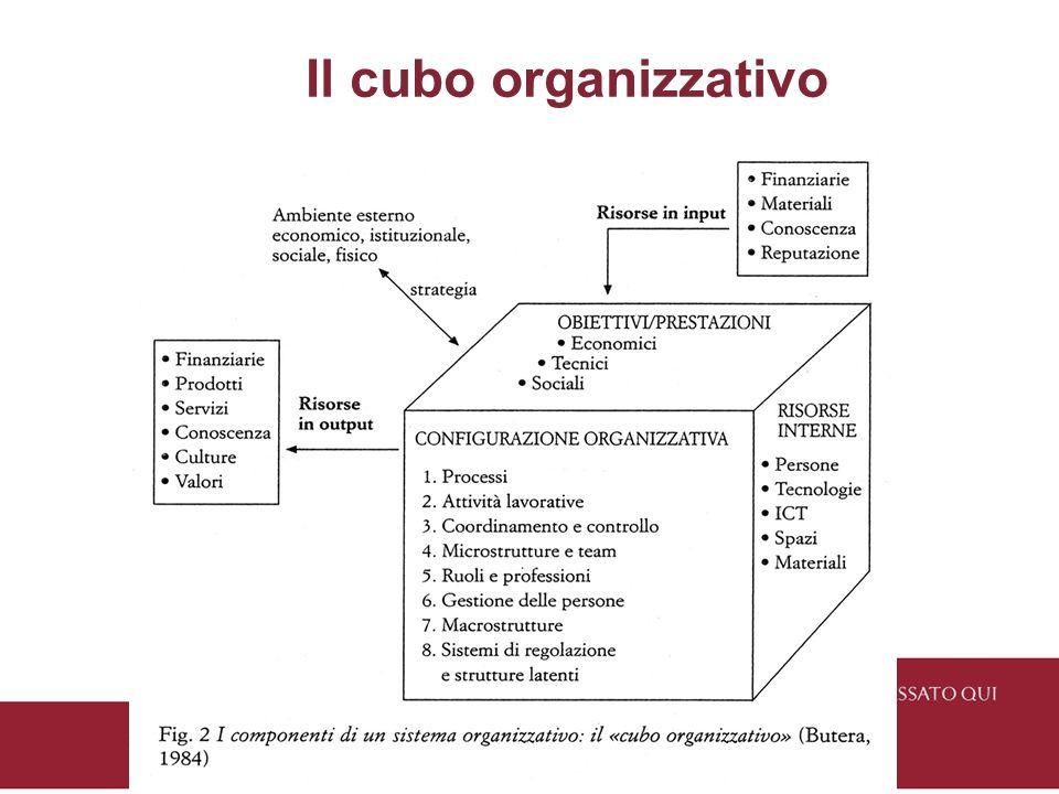 Il cubo organizzativo