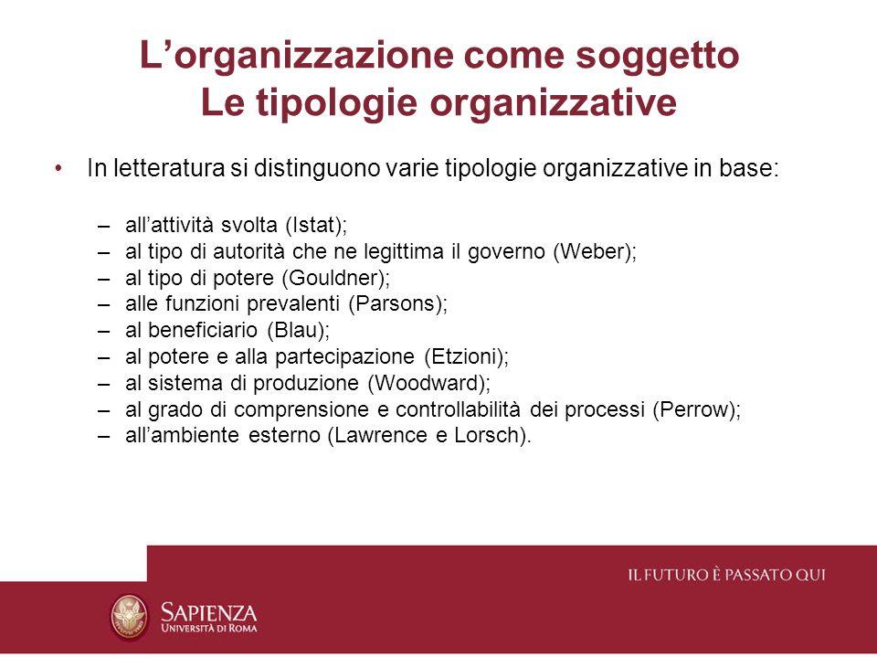 Seconda accezione Unorganizzazione si definisce in base allattività organizzatrice, ossia agli atti compiuti per passare da uno stato di disordine ad uno di maggior ordine.