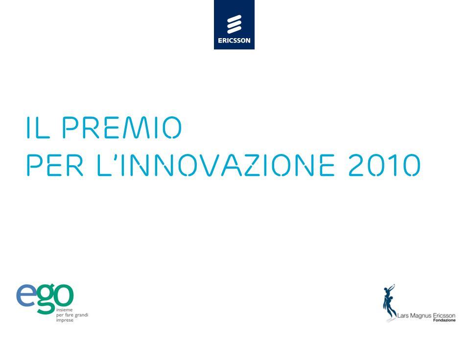 Slide title 48 pt Slide subtitle 30 pt Il PREMIO PER LINNOVAZIONE 2010