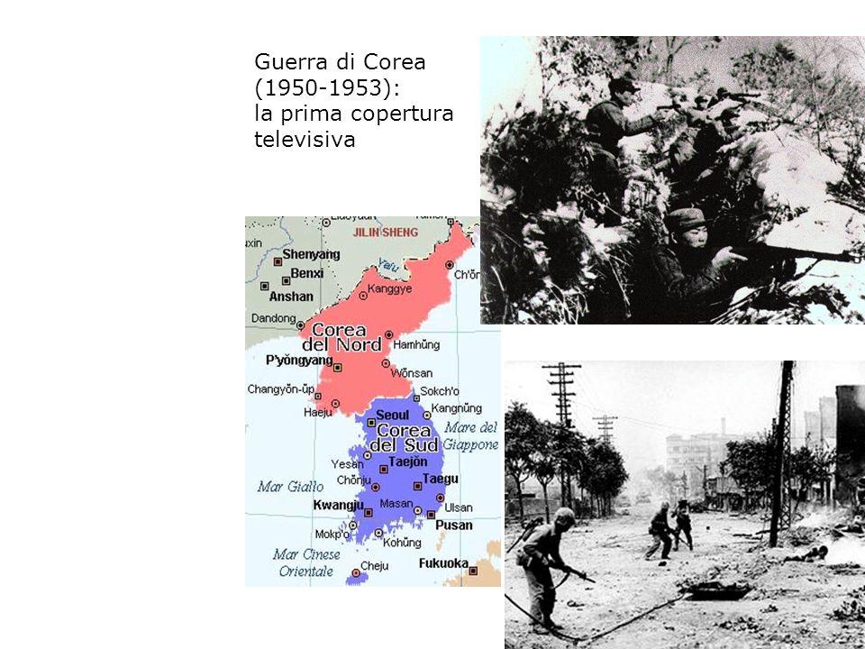 Guerra di Corea (1950-1953): la prima copertura televisiva