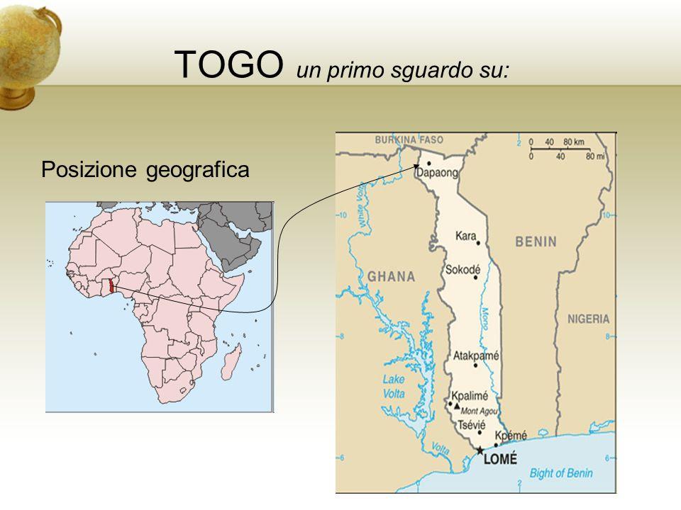TOGO Popolazione 2.703.250 ab.(cens. 1981) 6.4 - 6.7 mil.