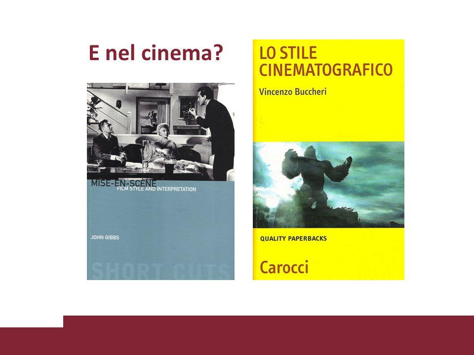 E nel cinema?