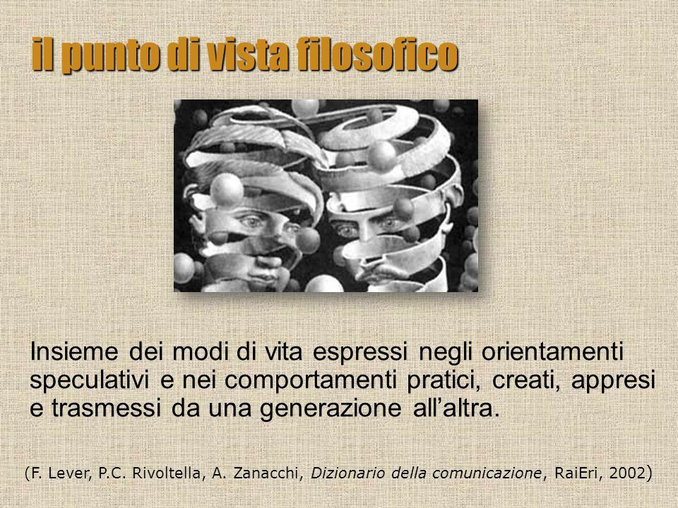 Il processo di umanizzazione delluomo, lacquisizione e lo sviluppo delle facoltà più elevate mediante leducazione, la filosofia, le arti, nonché lideale punto di arrivo di tale processo.