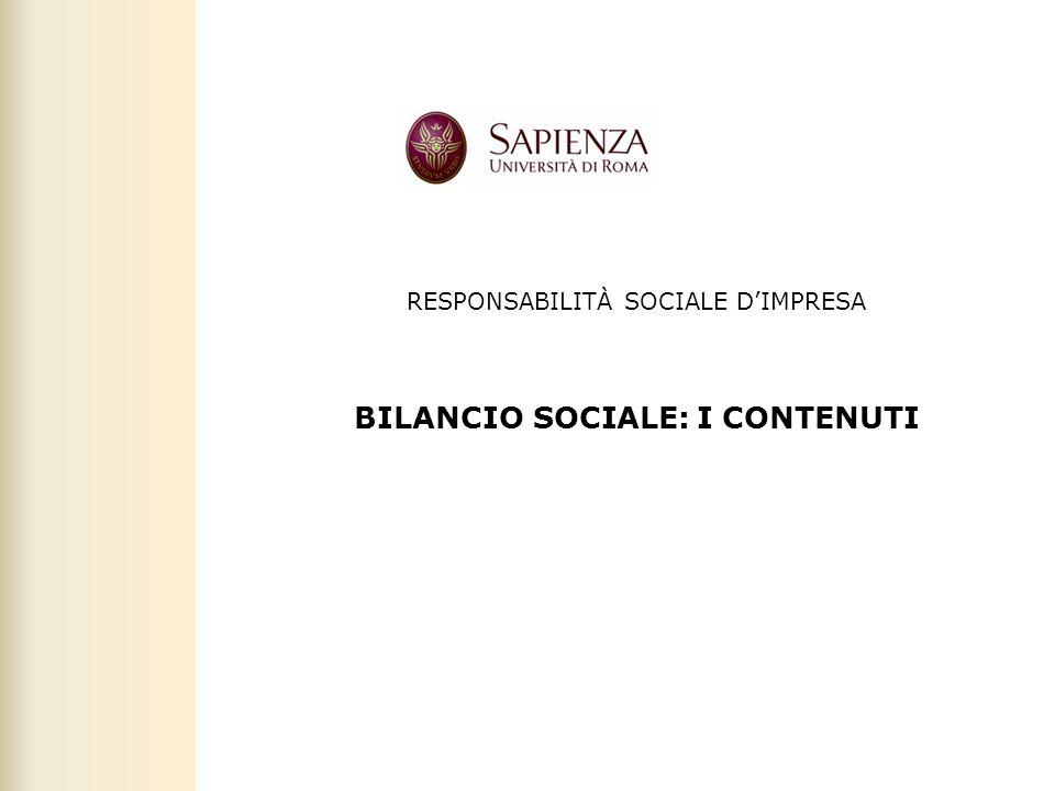 Facoltà di Scienze politiche, sociali e della comunicazione – A.A. 2011-2012 | Responsabilità sociale dimpresa | 41 RESPONSABILITÀ SOCIALE DIMPRESA BI