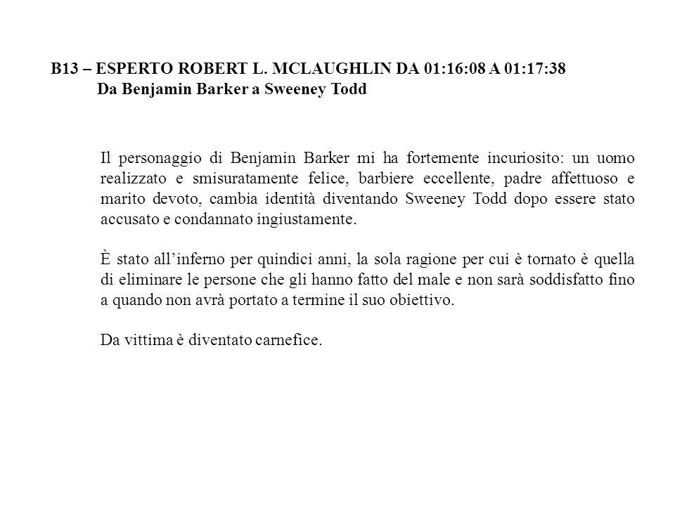 B13 – ESPERTO ROBERT L.